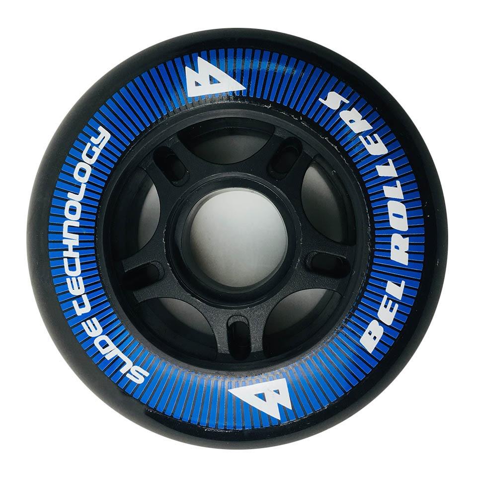 Japy Roller Skate PU Wheels 8 Pieces / Lot 85A 80mm Tires Inline Skate Slalom Sliding Free Skating For SEBA Powerslide Patines
