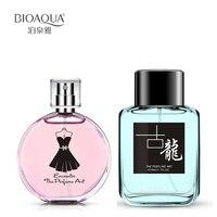 2Pcs Lot BIOAQUA 30Ml Female Perfumes Natural Plants Extracts 50ML Portable Men Perfume In Bottle Long