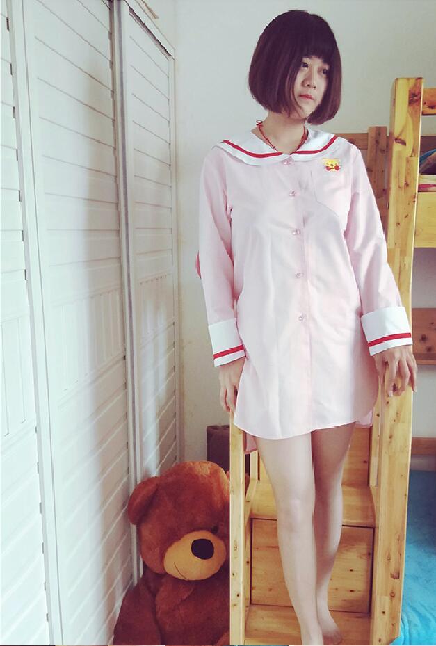Carte Captor SAKURA princesse Cosplay Costume lolita vêtements de nuit pour filles robe en coton