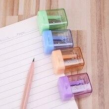 Mini Manual Pencil Sharpener Hand Portable Desktop Tool Student School Supplies qiang