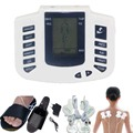 Estimulador elétrico Full Body Relax terapia Muscle Massager pulso dezenas acupuntura pé pescoço , costas , massagem de emagrecimento chinelo 8 pad