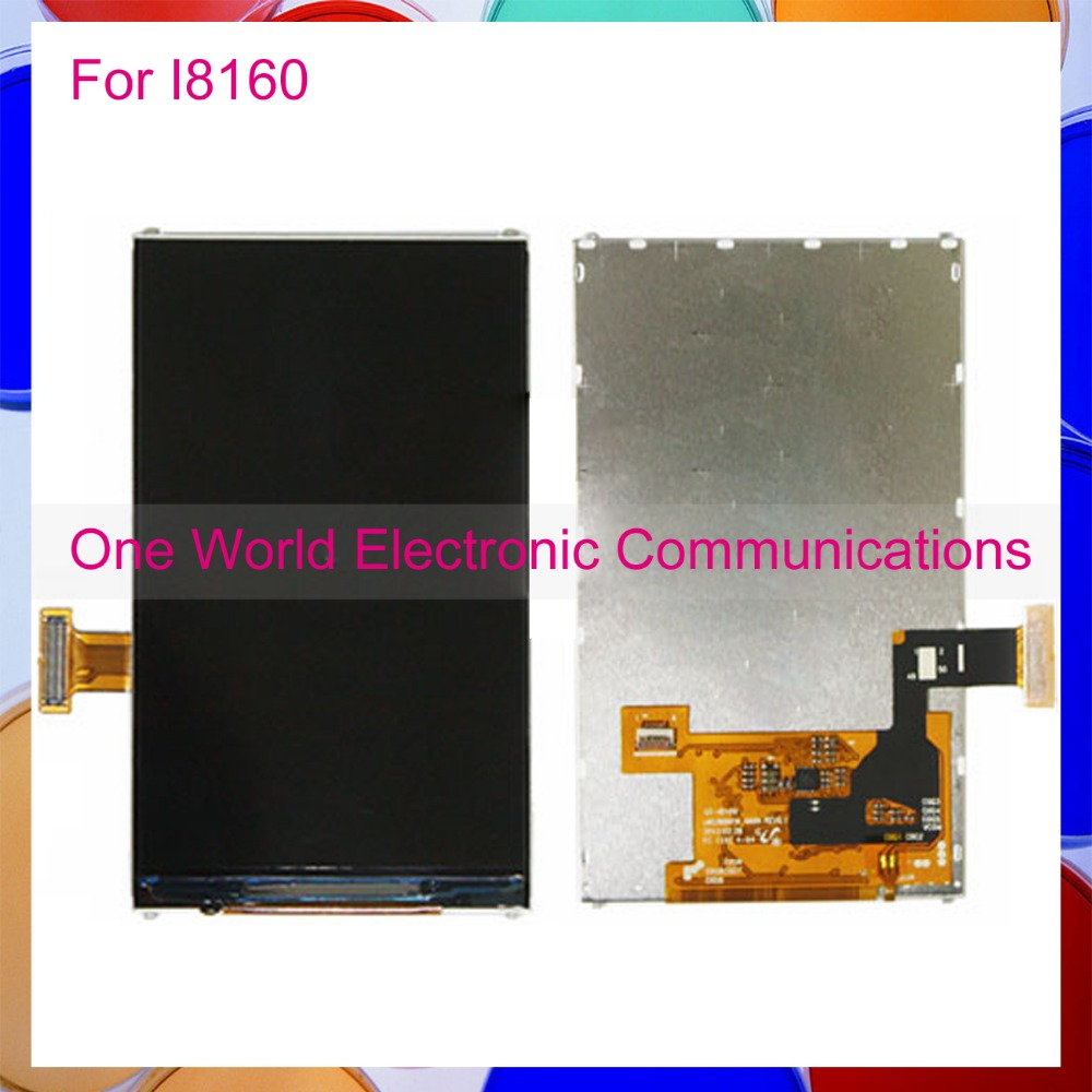 One World High Quality New For Samsung Galaxy ACE 2 I8160 LCD Display Screen Phone 100% Good Working Free Shipping+Tracking Code
