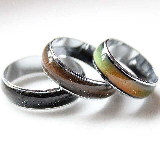 10 Teile/los Paar Ring Vintage Temperatur Verfärben Partei Ringe Für ...