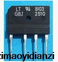Импортные товары качества GBJ2510 электромагнетизма мост куча 25a 1000 В плоским мост выпрямительный мост 10 ШТ.