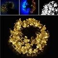 6.5 m 30 LED Solar de la Secuencia de la Navidad Luz de La Flor de Hadas de la Boda A Prueba de agua Lámpara de Uso Doméstico