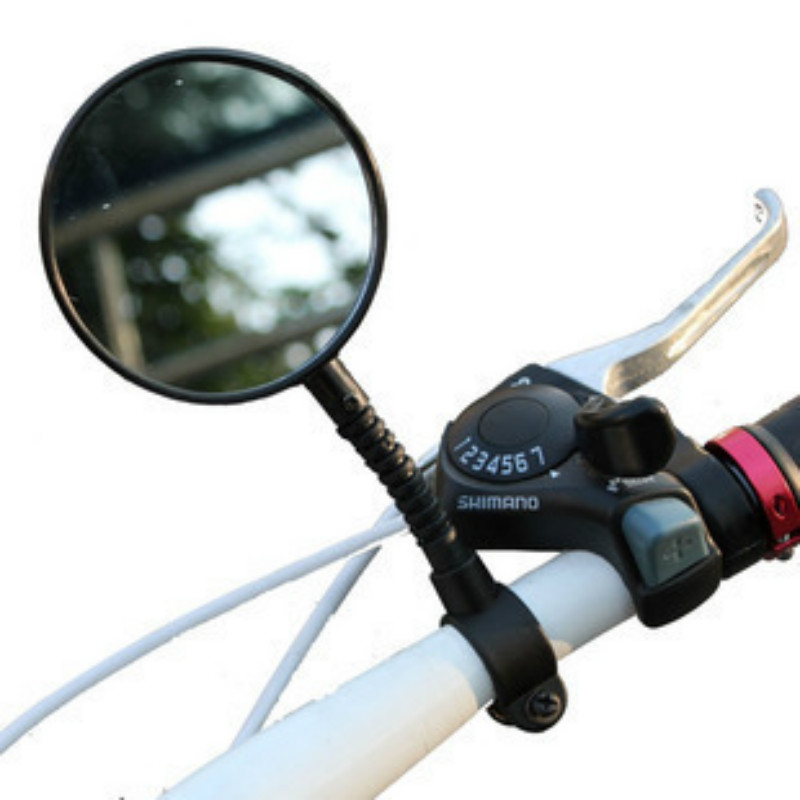 1pcs Bike Mirrors Mountain Bicycle Rearview Mirror Reflective Safety Bicycle Handlebar Rear Back View Mirror for Bike Accessorie