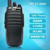 מכשיר הקשר Long Range TYT TC-8000 צריכת חשמל גבוהה 10W שני הדרך רדיו מכשיר הקשר CB אינטרקום משדר Woki טוקי (1)