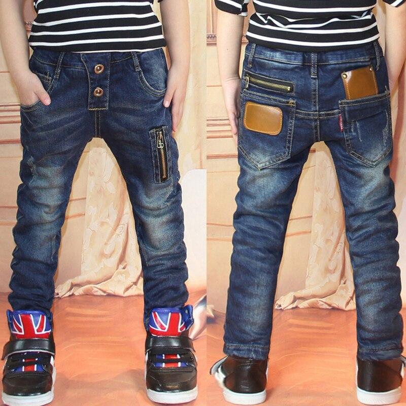0d13e4d120 US $12.01 10% OFF|retail 2019 autumn winter cotton pants boys jeans kids  stylish fashion trousers pencil pants roupas infantis menina leggings-in ...