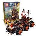 ЛЕПИН 14018 Nexus Рыцари Осадные Машины Модель строительство комплекты совместимы с legoED город 3D блоки Образовательные детские игрушки