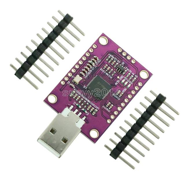Nouveau Module multifonction USB haute vitesse FT232H vers JTAG UART/ FIFO SPI/ I2C