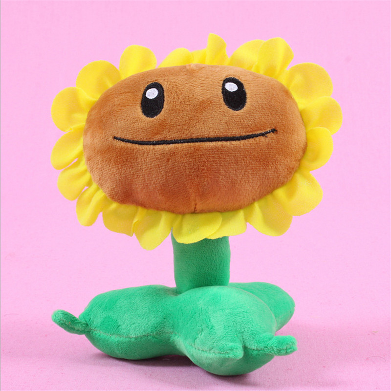 2017 Hot sales Plants vs zombies doll plush toy Doll Top games Baby Toy for Children Gifts toys