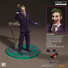 The Joker Action Figures 1:12 With Real Clothing MEZCO Movable Model Toy