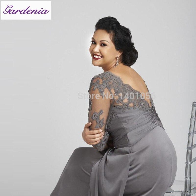 vestido para la mama de la novia gordita – vestidos largos