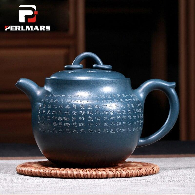 470cc Authentique Yixing Théière Chine Kung Fu Thé Ensemble Teaware Violet argile Xin Jing Pot Maître Main Yixing Café Bouilloire Thé Pot