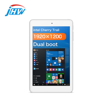 Cubo iWork 8 Air 8 Polegada Tablet PC Intel Trilha de Cereja Quad Core do Windows 10 + Android 5.1 2 + 32G 1920*1200 IPS Tablet HDMI OTG WI-FI