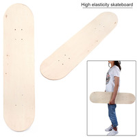 79*19cm Maple Material Skateboard Panel High Elasticity Double Tilt Skate Board Surface DIY According To Your Preferences