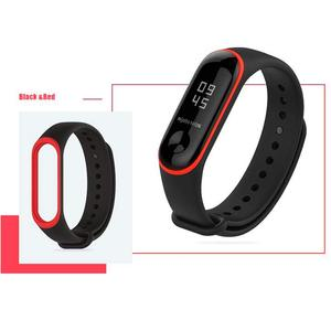 Image 4 - 20pcs/Lot TPU Wrist Starp For Mi Band 4 Silicone Sport Colorful Strap Wristband Accessories for Xiaomi Mi Band 3 Smart Bracelet