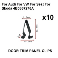 10x De Metal Suportes de Montagem da Braçadeira Para Audi Para VW Para Seat Para Skoda | 4B0867276A|Fechos e presilhas| |  -