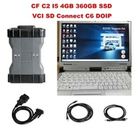 Super CF C2 CF C2 i5 4GB 360GB SSD with V2019.03 FULL SOFTWARE MB Star C6 MB Diagnosis VCI SD Connect C6 OEM DOIP Diagnosis VCI