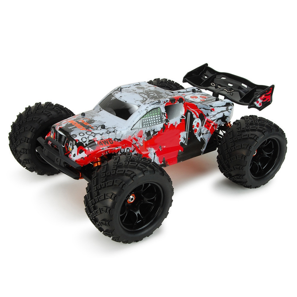 High Speed RC Car 1:8 4WD Off-Road Racing Truck RTR 70km/H Wheelie High-Torque Servo RC Car Impact Resistant Monster Truck Toys цена