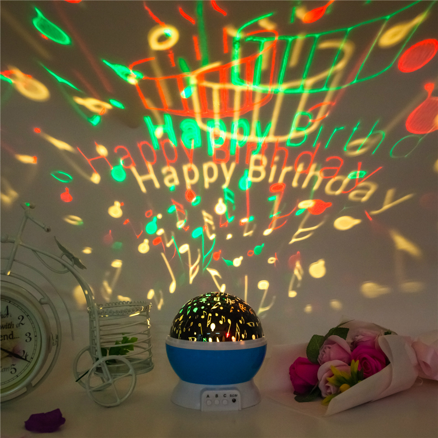 Aliexpress Com Buy Happy Birthday Moon Star Lamp Led