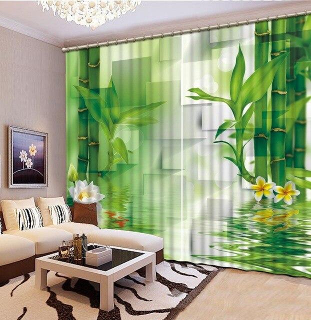 Europäische Vorhänge Für wohnzimmer Schlafzimmer box bambus Vorhänge ...