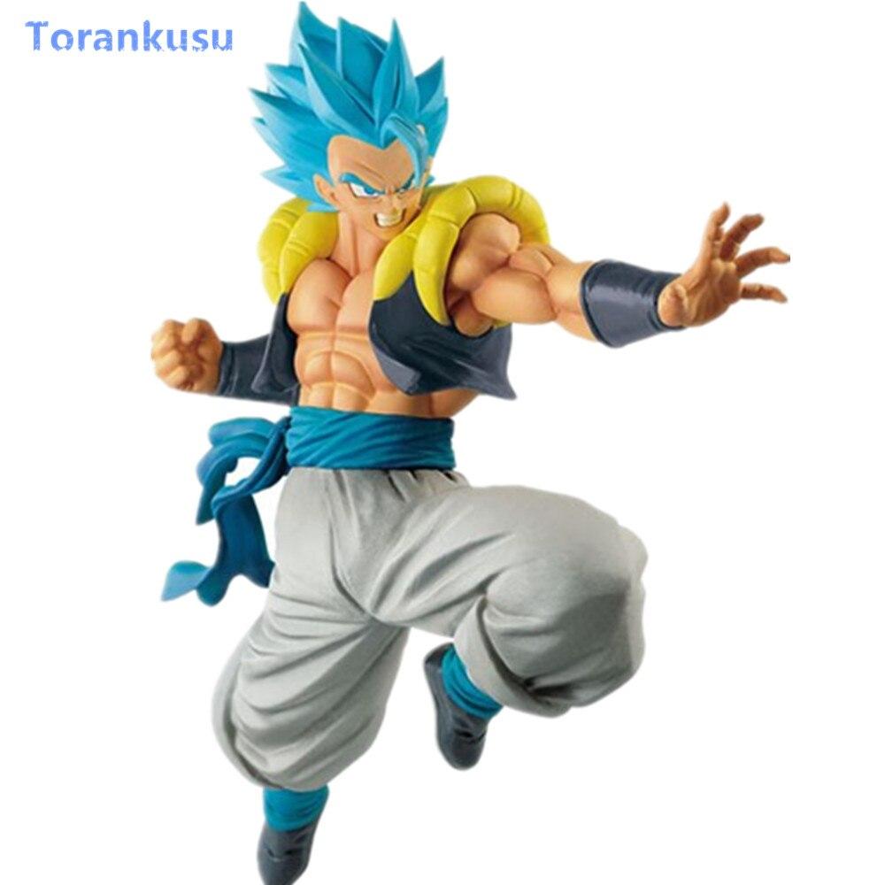 Dragon Ball Super Action Figure Blue Gogeta Figure Figurine PVC Anime Gogeta Dragon Ball Z DBZ Model Hot Toys Gift Figma Doll PG