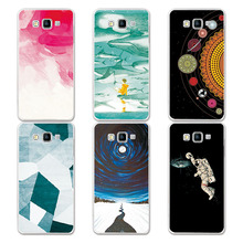 Couple Phone Case For Samsung A5 2015, 14 Patterns Universe Planet Astronauts Design Coque For Samsung Galaxy A5 2015 A500 A5000
