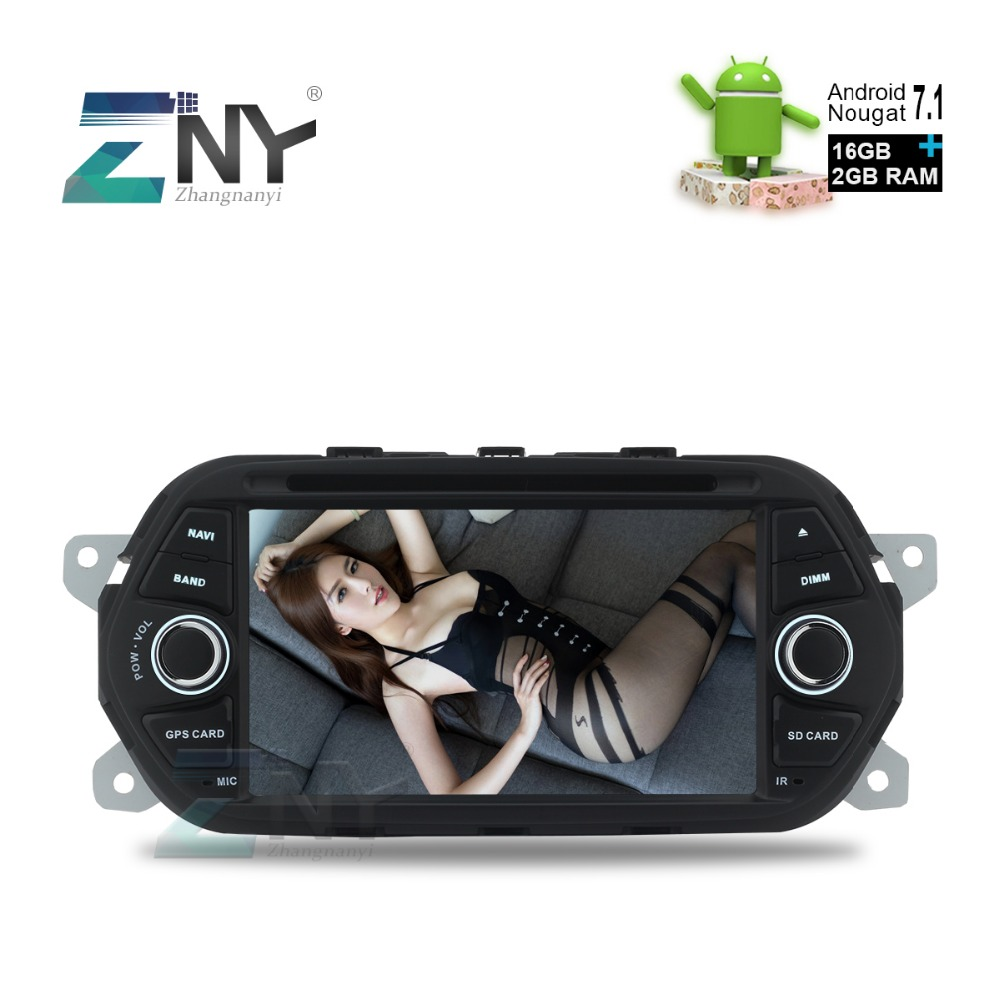 7 hd 1024x600 android 7 1 2 auto radio headunit for fiat. Black Bedroom Furniture Sets. Home Design Ideas