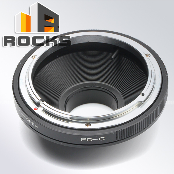 Lens adapter work for C.anon FD Mount Lens To 16mm C Mount Film Movie Camera Adapter