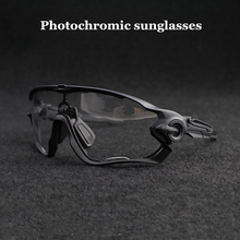 Men/Women Photochromic Lens Cycling Glasses outdoor Sport Ro