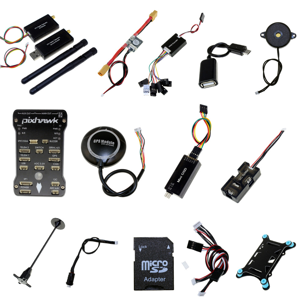 Pixhawk PX4 PIX 2 4 8 32Bit Flight Controller 433 915MHz 100 500mw Telemetry With M8N