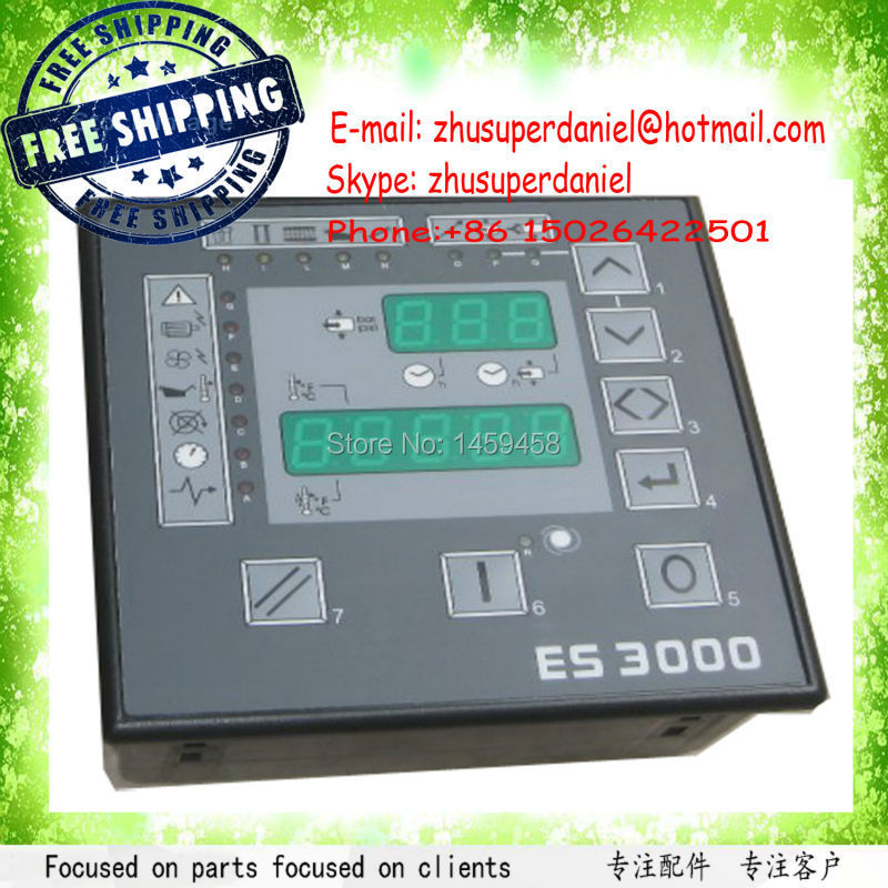 Free shipping brand new OEM Microcontroller Panel main board 2202560023=ES3000 for Liutech Air Compressor Parts