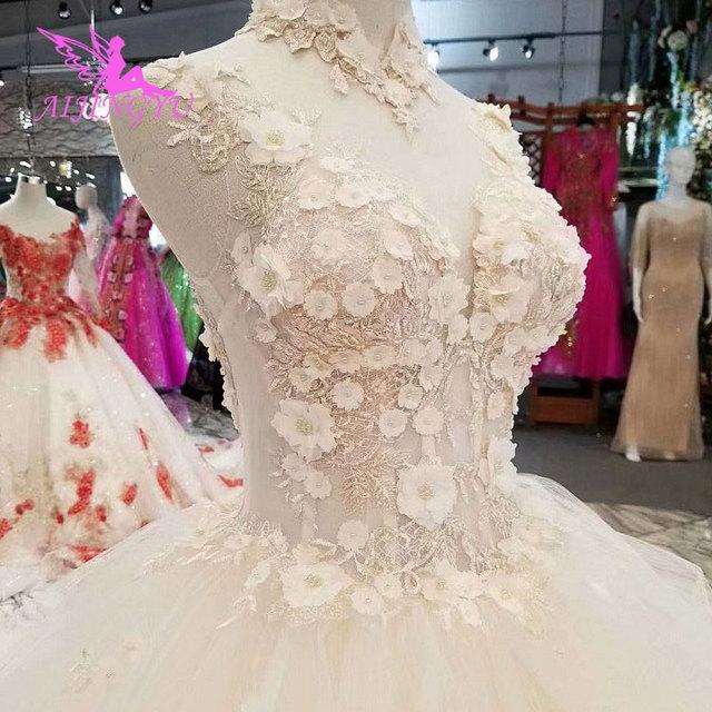 AIJINGYU Jumpsuit Wedding Dresses Destination Gowns Short Modest Sexy Real Photo Turkey Gown Top Wedding Dress Designers