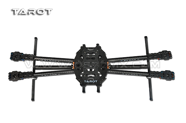 F05548 Tarot Iron Man 650 Carbon Fiber 4 axle Aircraft Fully Folding FPV Quadcopter Frame Kit TL65B01