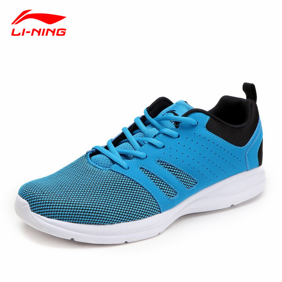Li-Ning Men's Running Shoes Super Light Shock Absorption Man Sports Althetic Sneakers Li Ning Summer Jogging Walking Shoe L636
