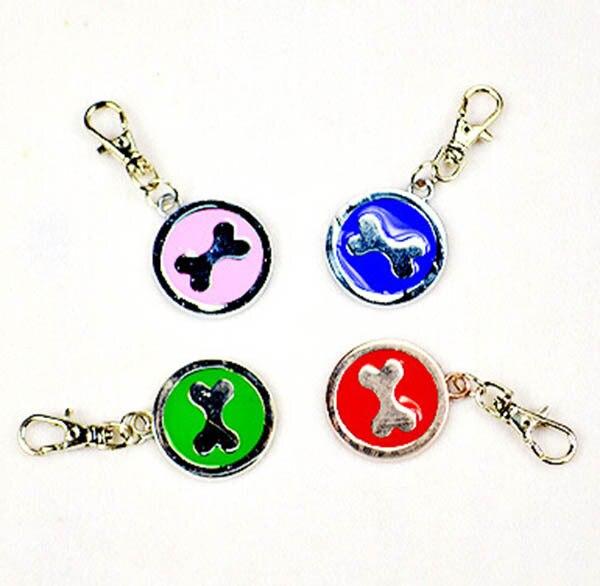 50 unids/lote marco de diamantes de la moda colgante perrito perros gatos cachor