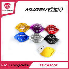 Free Shipping MUGEN Radiator Cap Cover Fit For HONDA Accord Civic CR-V CR-Z CRX City Crossroad Elysion Jazz Prelude RS-CAP007