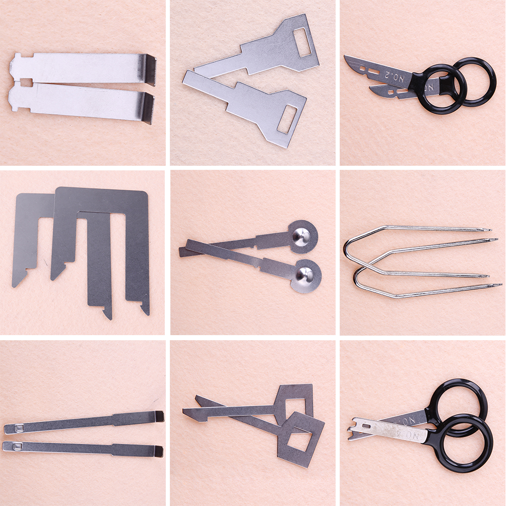 38 Pcs Voertuig Auto Stereo Radio Release Removal Tools Set Sleutels - Gereedschapssets - Foto 3