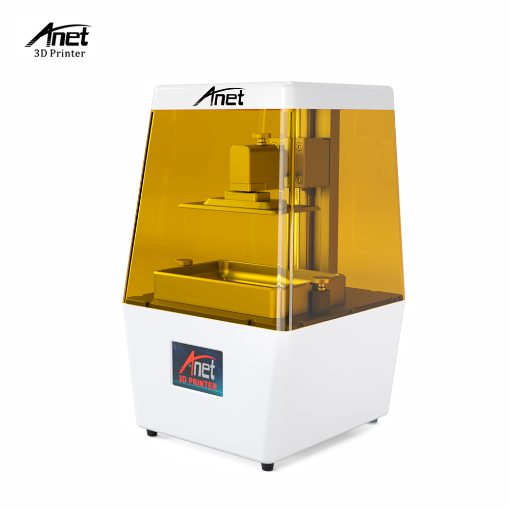 Anet N4 LCD 3D drukarki maszyna unikalny o strukturze plastra miodu napełniania oszczędność materiał do drukowania z 2K HD 3.5 Cal inteligentny kolorowe ekran dotykowy w Drukarki 3D od Komputer i biuro na AliExpress - 11.11_Double 11Singles' Day 1