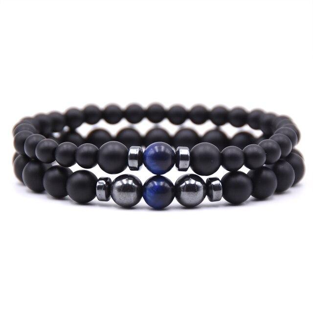Bracelet relation à distance bleu