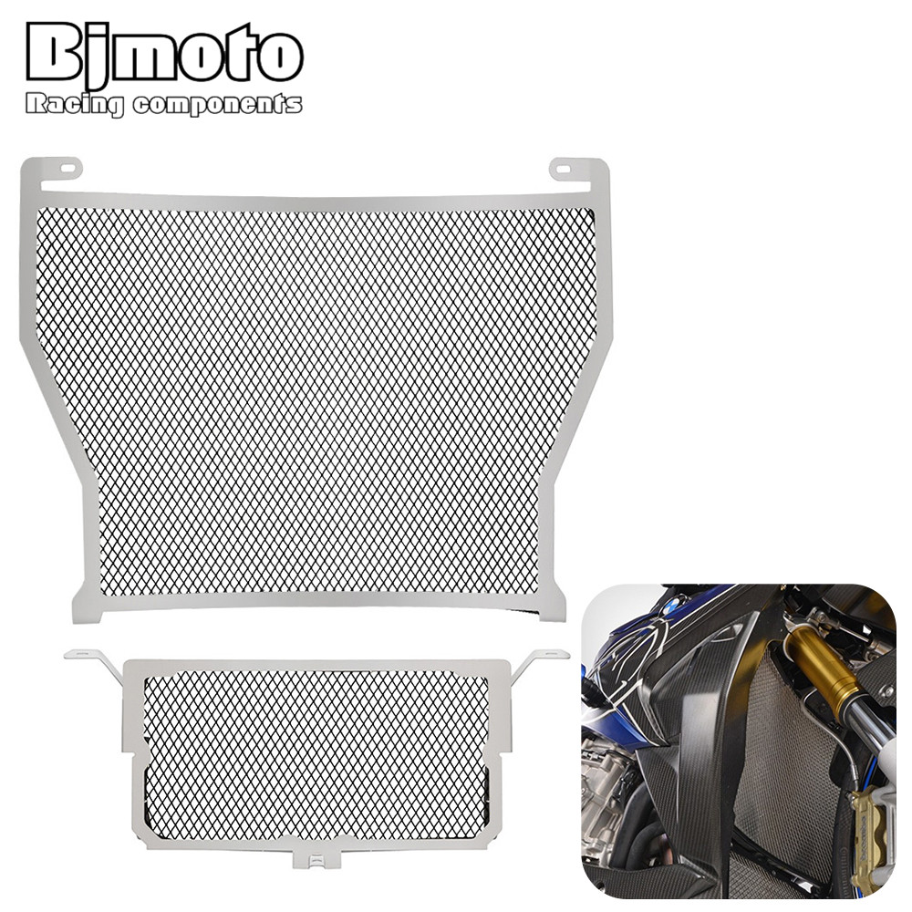 For BMW S1000R 2014 2015 S1000RR  2010-2016 S1000XR  2015 2016 HP4 2012 2013 2014 motorcycle motocross radiator guard motorcycle radiator grill grille guard screen cover protector tank water black for bmw f800r 2009 2010 2011 2012 2013 2014