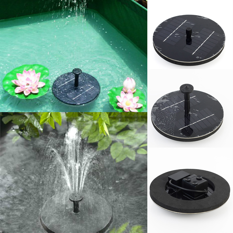 Floating Pond Fountain Led Lights