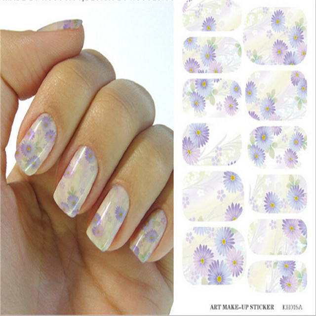 Free Shipping Little Daisy Nail Polish Design Stickers For Nail