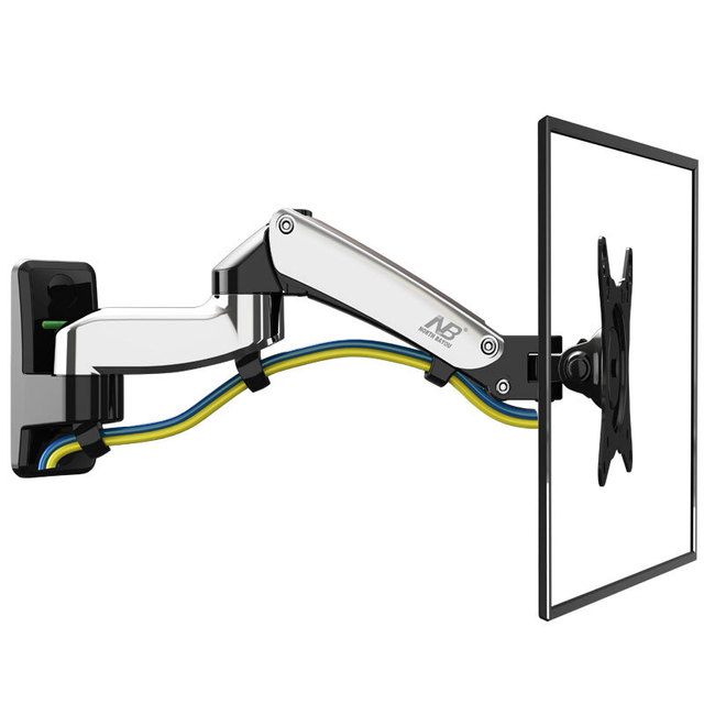 Nb F150 Tv Wall Mount 17 27 Inch Monitor Holder Gas Spring Free