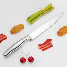 New sharp knife quality stainless steel 8'' inch Professional Chef Frozen meat cutter Chef knife kitchen knife High Quality(China)