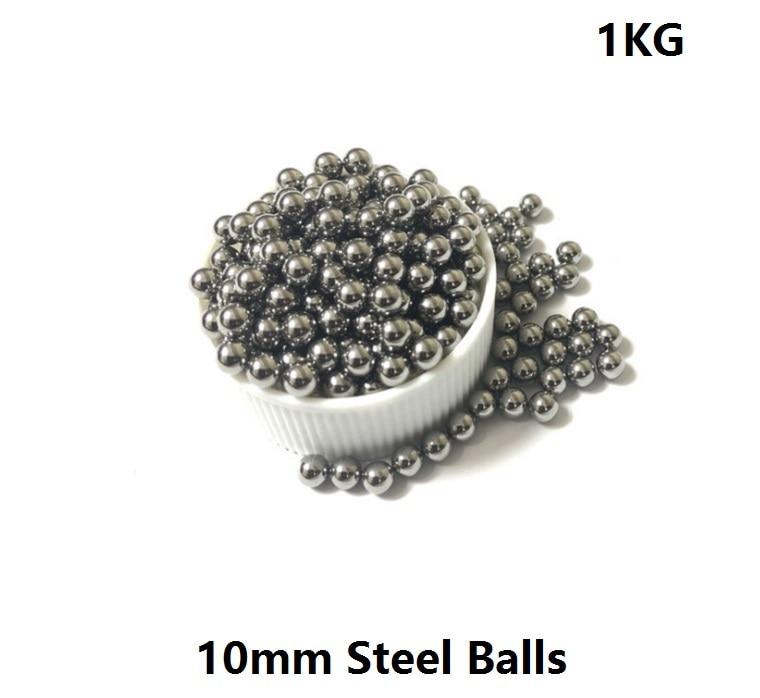 Free Shipping 1kg/lot (about 245pcs) Diameter 10mm high carbon steel balls 10 mm Bearing Balls Precision G100