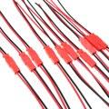 20 шт. Новый 2-контактный разъем Штекер JST кабель 22 AWG провод для RC батареи вертолета DIY светодиодные фонари украшения