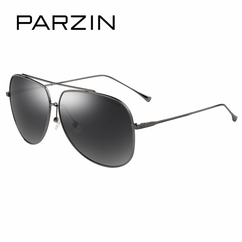 PARZIN Brand Quality Men s Sunglasses Cool Alloy Frame Aviator Glasses For Male Driving Sun Glasses