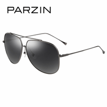 PARZIN Brand Quality Men's Sunglasses Cool Alloy Frame Aviator Glasses For Male Driving Sun Glasses With Original Packing 8088